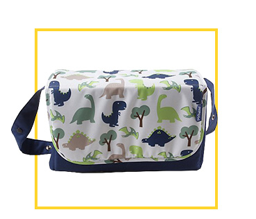 Shop dinosaur print changing bag