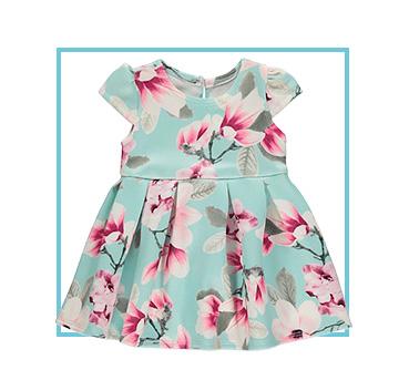 Shop blue floral dress