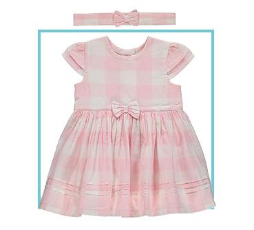 Shop pink gingham dress
