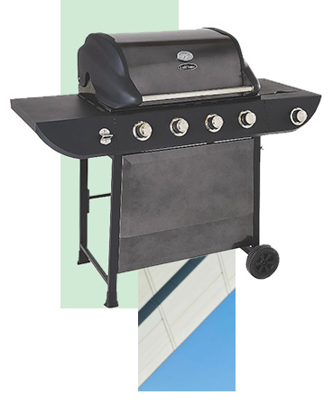 Cook up a feast with our range of gas and electric BBQs