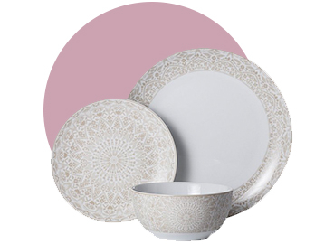 Serve up a treat with this Sunbaked dinner range, designed with a beautiful pattern