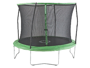 Keep them active and entertained with a trampoline