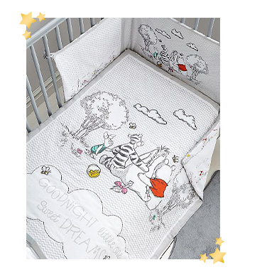 Sweet dreams will come easy with Winnie the Pooh bedding