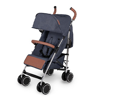 Easily foldable, this stroller will take you from adventure to adventure