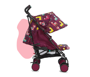 Make sure they're safe and comfy when off on adventures with a stroller