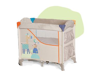 This cosy baby nest is a spare bed, travel bed and bassinet in one