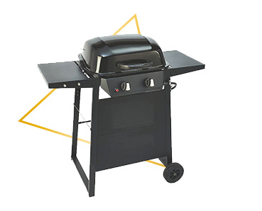 With 2 independently controlled grills and a cooking area big enough for 14 burgers, this BBQ is a great choice