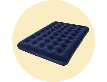 This Ozark Trail air bed is a comfortable and easy sleeping solution when you're on the move