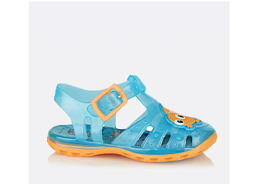 Comfy, water-resistant and easy to wipe clean, these jelly sandals are perfect for trips to the beach or days by the pool