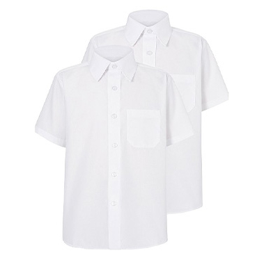 Our 'Stay White' technology helps to keep our white school shirts looking whiter, wash after wash