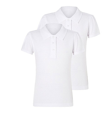 Our 'Stay White' technology helps to keep our white school polo shirts looking whiter, wash after wash