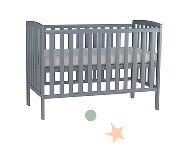Transition your baby into a cot to ensure a peaceful night's sleep