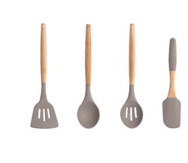 Sabichi Silicone Cooking Utensil 4 piece Set