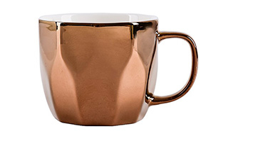 Bronze coloured mug