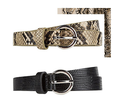 Complete your outfit with a statement belt