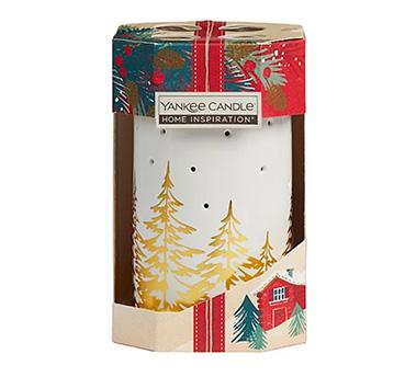 Product image of festive Yankee candle