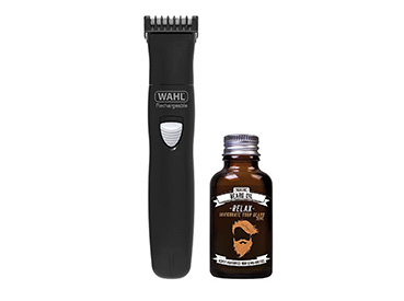 Product image of Wahl beard trimmer and oil gift set