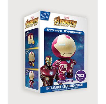Marvel Avengers Iron Man inflatable plush toy