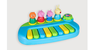 Peppa Pig and Friends keyboard toy