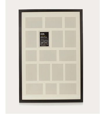 Product image of a black photo frame