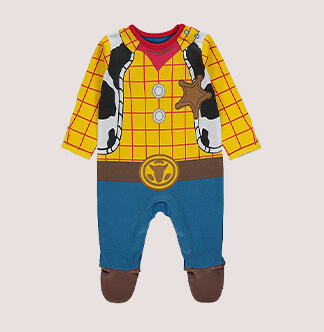 World Book Day 2020 - Toy Story Woody baby costume