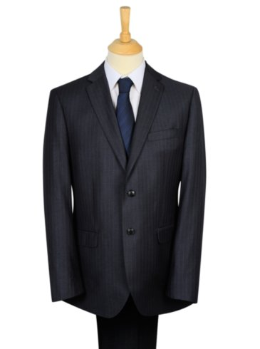 Tailor & Cutter Wide Pinstripe Suit