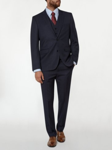 Regular Fit Suit - Charcoal