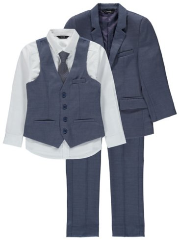 Boys Formal Suit - Blue