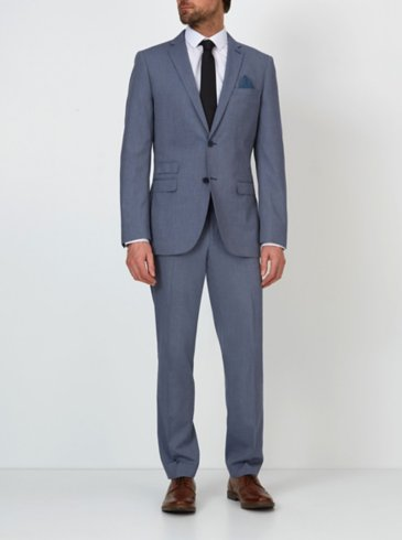 Slim Fit Suit – Blue