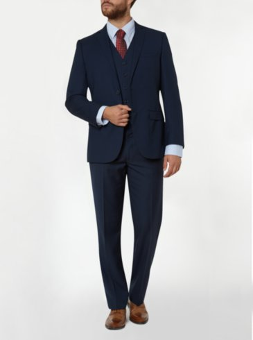 Slim Fit Suit - Navy