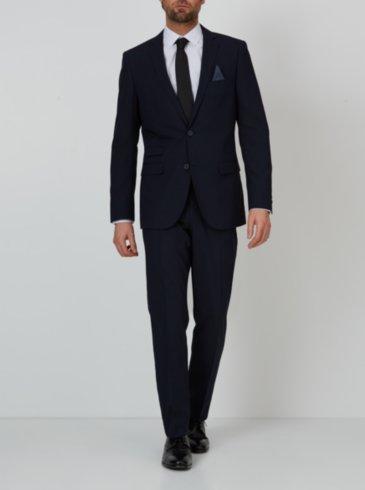Slim Fit Suit - Navy