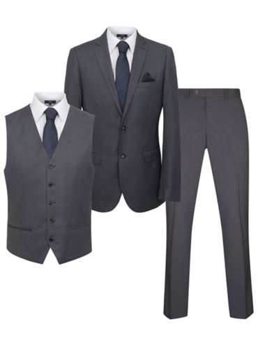 Regular Fit Suit - Grey