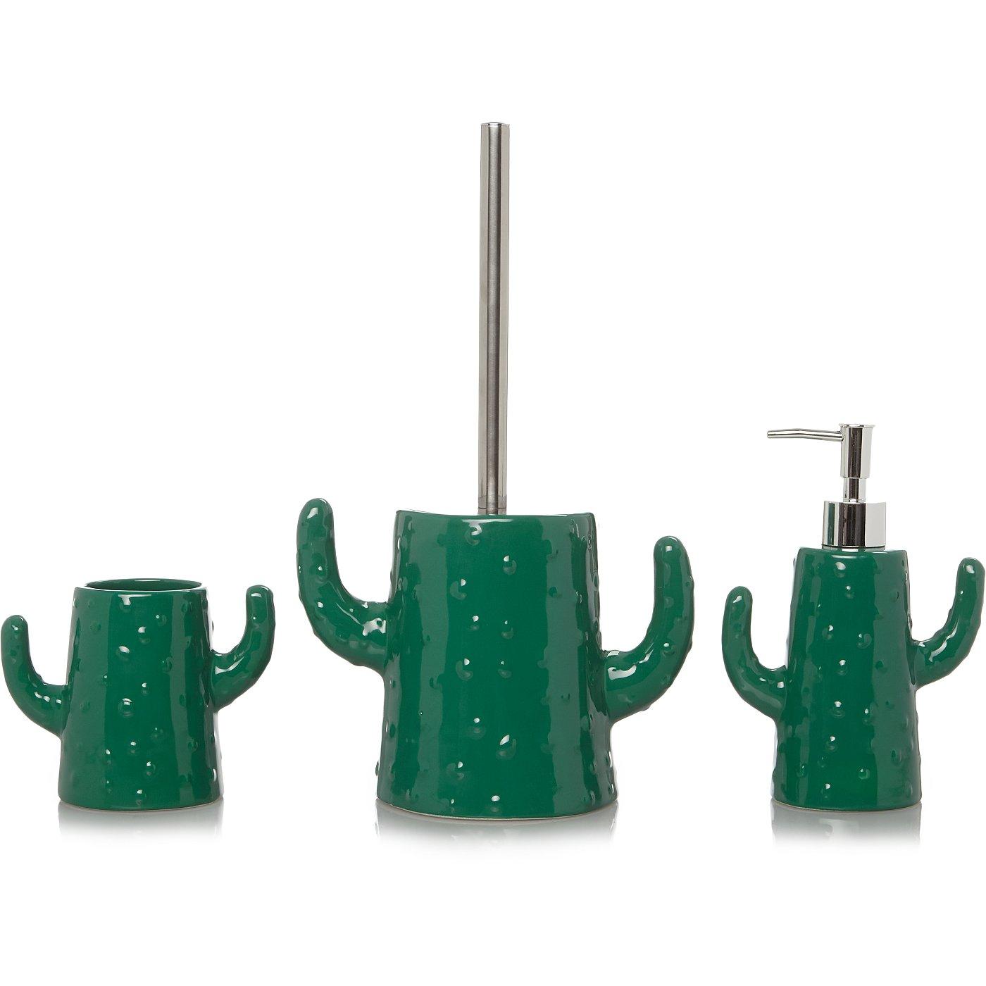 Cactus Bath Accessories Range | George