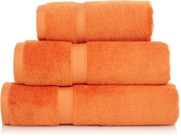 Tangerine Super Soft Cotton Towel Range