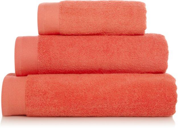Coral 100% Cotton Towel Range
