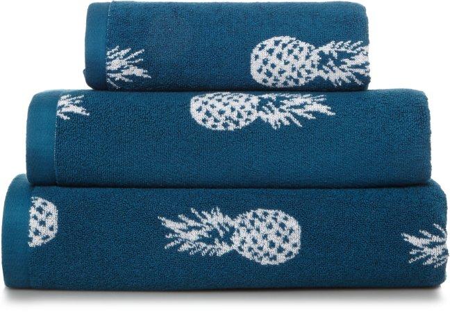100% Cotton Pineapple Towel Range
