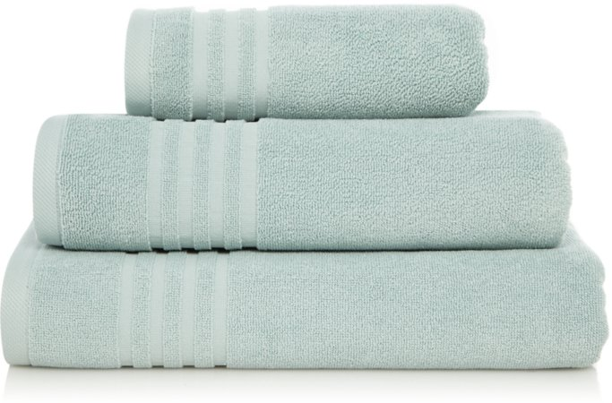Luxury Duck Egg Turkish Cotton Towel Range