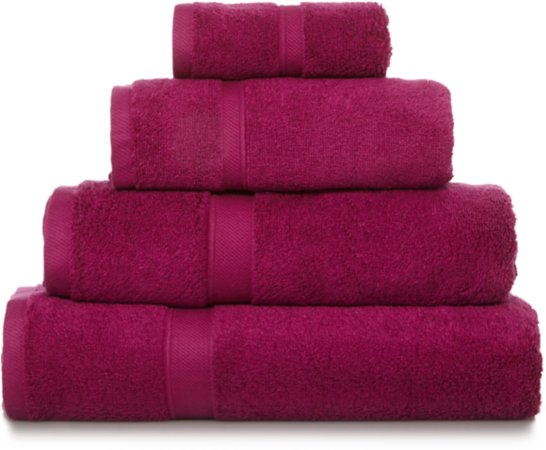 Fetsival Fuschia 100% Super Soft Cotton Towel Range