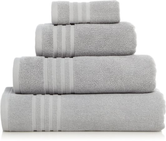 Luxury High Rise Grey Turkish Cotton Towel Range