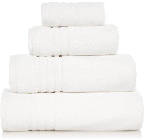 Luxury White Turkish Cotton Towel Range
