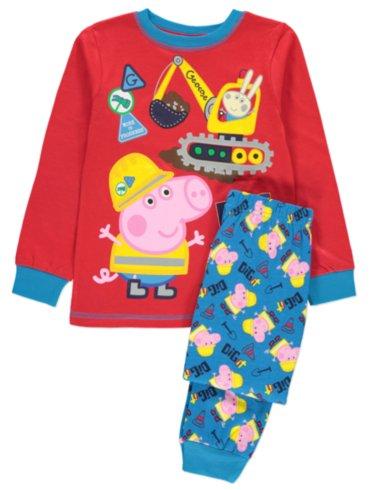Pepper Pig George Pig Pyjama and Slipper Set