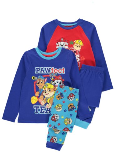 Paw Patrol Pyjama and Slippers Set