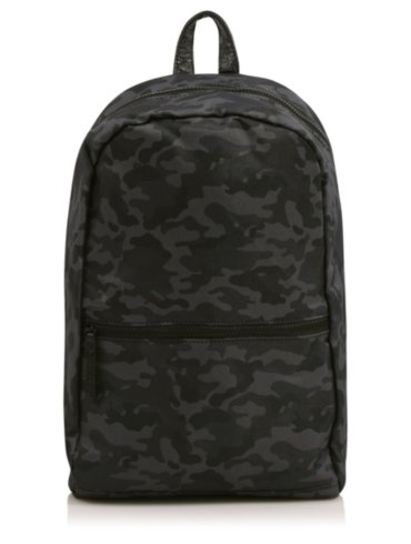 Camo Reversible Rucksack and Camo Wash Bag Set