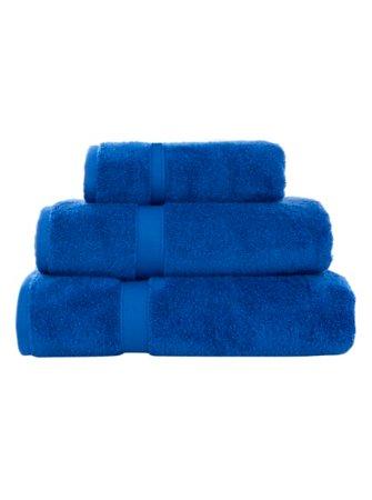 Super Soft Cotton Towel Range - Brilliant Blue