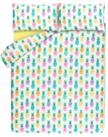 Pineapple Print Bedding Range
