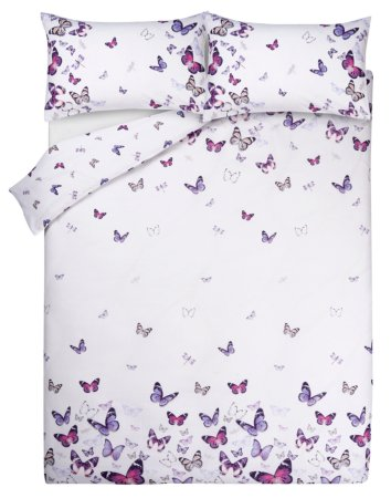 Butterfly Print Bedding Range