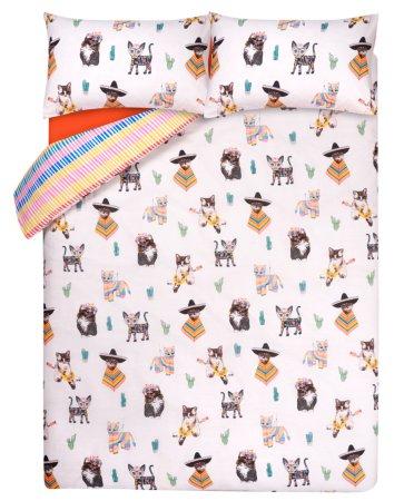 Fiesta Cat Bedding Range