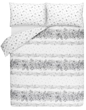 Classic Floral Print Bedding Range