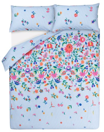 Floral Stripe Bedding Range