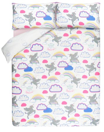 Unicorn Print Bedding Range